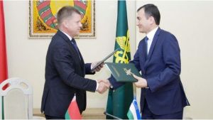Customs services of Belarus and Uzbekistan will cooperate in the fight against offenses