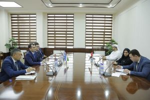 Chairman of the State Customs Committee held a meeting with representatives of the UAE Customs Administration
