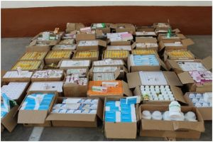 Medicines of unidentified quality for about 216 million soums were seized during a customs inspection